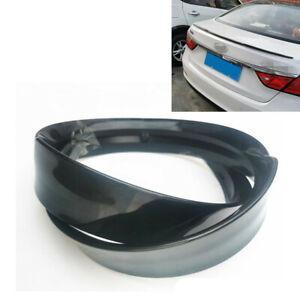 38inch Black Universal Spoiler Rubber Rear Roof Trunk Molding Lip Sport Wing