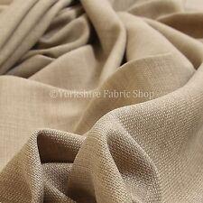 Soft italien Chenille Tapisserie Matériau tissus de luxe rideaux beige désert