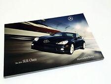 2010 Mercedes-Benz SLK300 SLK350 SLK55 AMG SLK-Class Roadster Brochure