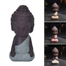 Cute mini Buddha Estatua monje estatuilla Tathagata India yoga Mandala escultura