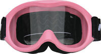 Kids/Youth Goggles - Motocross, dirt bike, PINK, quad, ATV, MX, non slip helmet