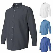 Button-Front Long Sleeve Regular M Casual Shirts for Men