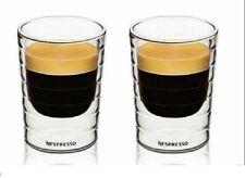 2pcs Nespresso Coffee Cup espresso mug thermal double wall 85 ml