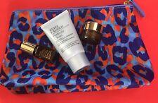 Estee Lauder perfectly clean cleanser/mask,night repair serum & eye bag set