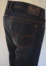 $198 DIESEL SAFADO SLIM STRAIGHT TROUSERS Jeans Men SZ 30 in 0RUS6 Dark Blue