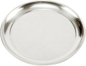 Norpro 15.5-Inch Pizza Pan - Stainless Steel