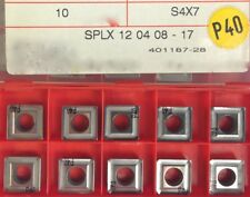CERATIZIT  10 x SPLX 120408 -17  S4 x 7 P40