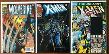 Wolverine #145/X-Men #100/Uncanny 304 Herb Trimpe/Jae Lee DF Signed/Sketched Set