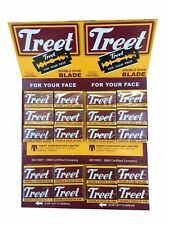 "200 Treet Carbon ""Black Beauty"" double edge razor blades"