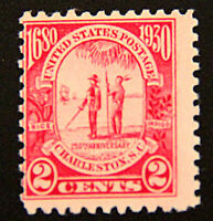 US Scott #683 1930 2¢ Two-Cents Charleston Carolina Stamp F/VF Mint Unused NH OG