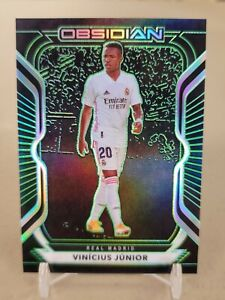 VINICIUS JR 2020-21 Obsidian Soccer Green Base Real Madrid #24/25!