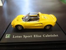 Cararama 1:72 Lotus Sport Elise Cabriolet Diecast Model w/ Display Case