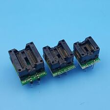 SOP28/20/16 TO DIP 28/20/16 Pitch 1.27mm Programmer Adapter Socket Total 3Pcs