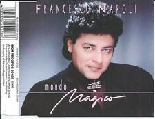 FRANCESCO NAPOLI - Mondo Magico CDM 4TR Italo Disco 1988 RARE!