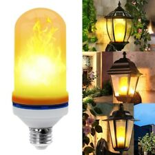6 Pack LED Flame Effect Fire Light Bulb Flickering Flame Lamp Simulated