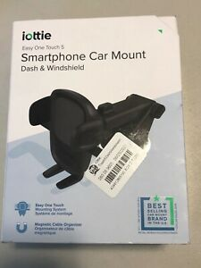 iOttie Easy One Touch 5 Dash & Windshield Mount- Black - Inspected Open Box I07