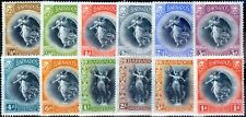 Barbados 1920 Victory set of 12 SG201-212 Fine Mtd Mint