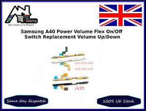 Samsung A40 Power Flex on off Volume Button Flex Cable Ribbon Replacement