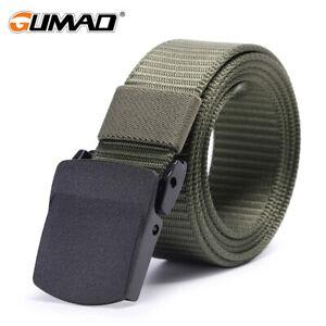 Tactical Belt Military Metal Men Buckle Waist Support Strap Outdoor Sports