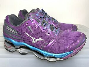 Womens MIZUNO Wave Prophecy 2 Purple Sneakers US 7 #18839