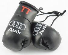 AUDI Mini Gants de boxe noir avec TT sur les manchette