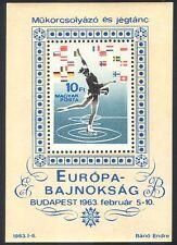 Hungría 1963 patinaje/Ice Bailar/Deportes/juegos/Banderas 1 V M/S (n40314)