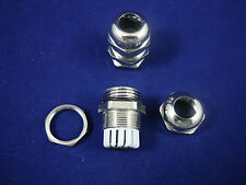 LOT OF 2PCS PG13.5 Waterproof  Brass Cable  Gland Dia. 6-12mm Material Brass