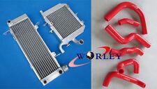 Aluminum radiator & hose HONDA RVF400 NC35 NC30 VFR400 lower with fan bracket