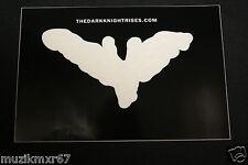SDCC Comic Con 2012 EXCLUSIVE Batman The DARK KNIGHT RISES Bat Decal Sticker