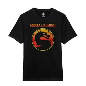 Mortal Kombat 'Dragon Outline' T shirt - NEW