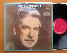 SMA 7013 Artur Schnabel Beethoven Sonatas no. 30 & 32 NEAR MINT RCA Mono LP