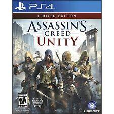 Assassin's Creed Unity - Édition Limitée (PS4) tout neuf et scellé - Import