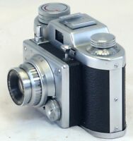 SAMOCA 35 III 35mm Rangefinder Film Camera Ezumar Anastigmat  f/3.5 50mm Lens