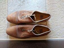 scarpe uomo Moma 42 beige pelle stringate laced shoes mens