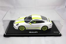 PORSCHE 911 R Weiß / Grüne Streifen SPARK 1:18 WAX02100026