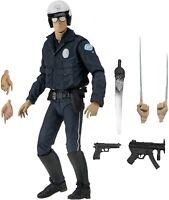 NECA - Terminator 2 Judgement Day - Ultimate T-1000 Motorcycle Cop Action Figure