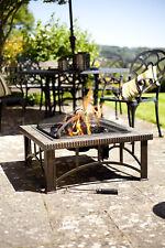 La Hacienda RIMINI Bronze Slate Mosaic Tiled Garden Firepit Outdoor Patio Heater