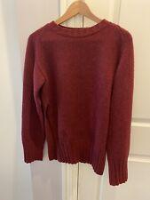 Khaite Dolores Cashmere Sweater Burgundy Small $1100