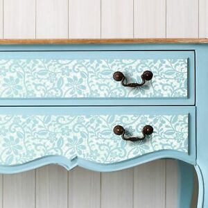 ELIZABETH LACE Furniture Stencil for painting by Dizzy Duck Designs