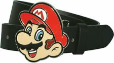 SUPER MARIO BELT & BUCKLE Large 36-42 inches Officially Licensed Nintendo Merch