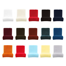 Dining Room Short Chair Cover Slipcover Velvet Stretch Counter Stool Covers