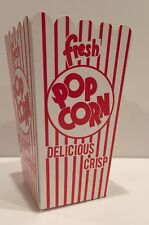 24 POPCORN SNACK BOXES - GREAT FOR PARTIES! HOME MOVIE NIGHT!  POPCORN BAGS TUBS