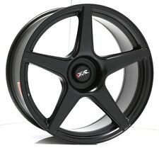 18 INCH XXR 535 MATT BLACK WHEELS AND TYRES STRETCH TYRES