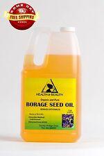 BORAGE SEED OIL ORGANIC CARRIER GLA-20% COLD PRESSED PREMIUM 100% PURE 7 LB