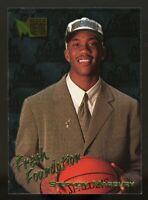 STEPHON MARBURY 1996-97 Fleer Metal Fresh Foundation Rookie RC #134 Timberwolves