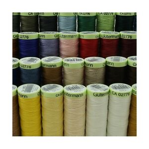 Gutermann Top Stitch Sewing Thread 30m Extra Strong Jeans Button High Lustre