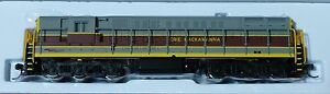 "Atlas N #49504 Erie Lackawanna Diesel F-M H24-66 ""Trainmaster"" Phase 1A Powered"