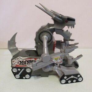 """Hot Wheels-Crashzilla-13"""" Tall-Monster Jam-2003-Sounds-Lights-Works"""