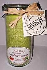 Candle Factory Kerze Mini Jumbo Duft Grapefruit Koriander