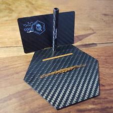Luxus-Reise-Kohlefaser-Schneidplatte mit Karte und Stroh Kit Snuff Tobacco